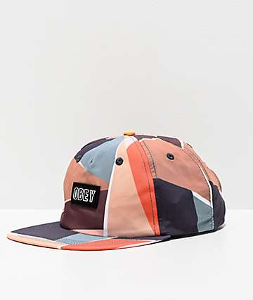 Obey Sherman Multicolor Strapback Hat