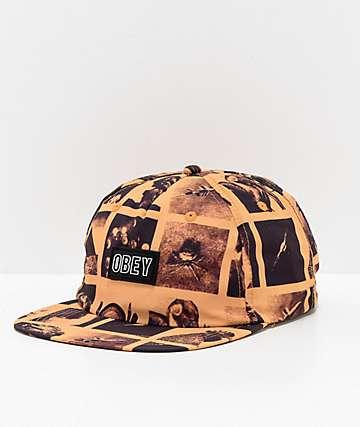 Obey Sherman Strapback Hat