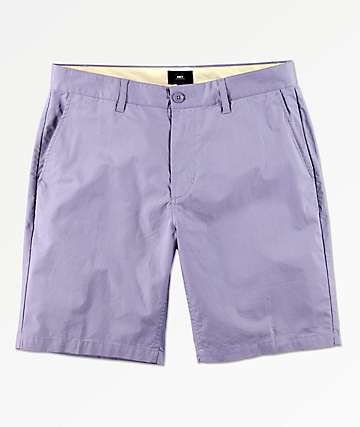 Obey Straggler Lavender Chino Shorts