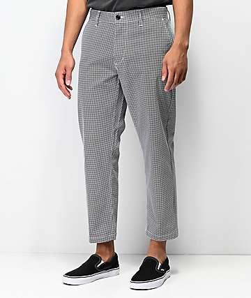 Obey Straggler pantalones chinos de pata de gallo