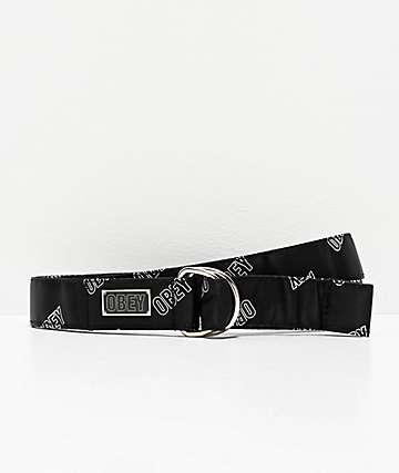 Obey Wayward Black & White Belt