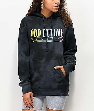 Odd Future 90's Sport sudadera con capucha negra