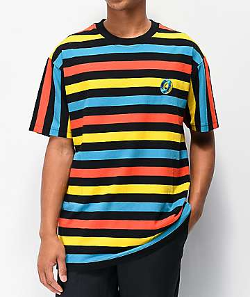 Odd Future Big Stripe Black T-Shirt