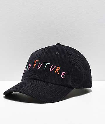 Odd Future Black Corduroy Snapback Hat