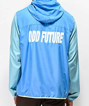 Odd Future Blocked Blue & Teal Anorak Jacket