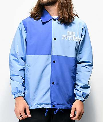 Odd Future Blue Colorblock Coaches Jacket