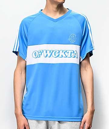 Odd Future Blue Soccer Jersey