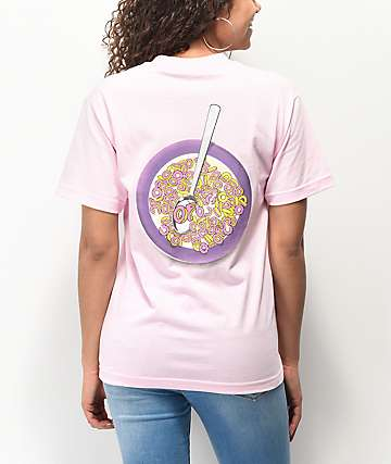 Odd Future Cereal Bowl Light Pink T-Shirt