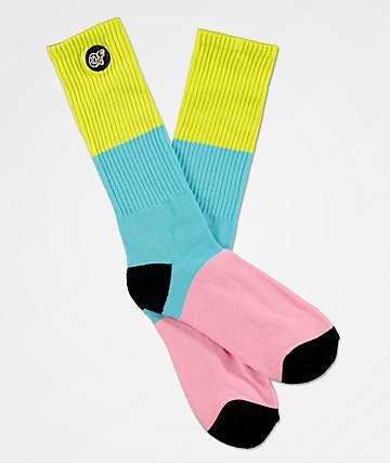 Odd Future Colorblock Crew Socks