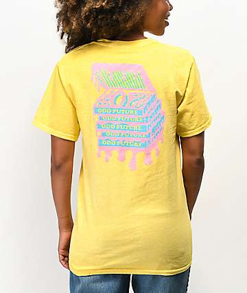 Odd Future Donut Box Yellow T-Shirt