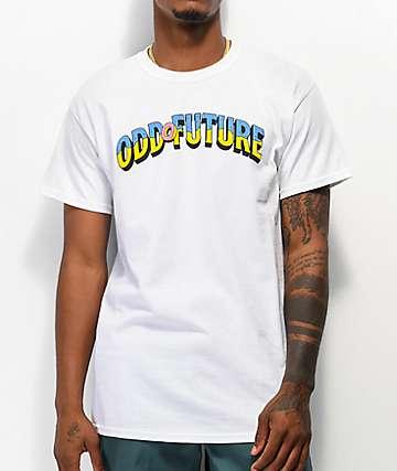 Odd Future Donut Title White T-Shirt