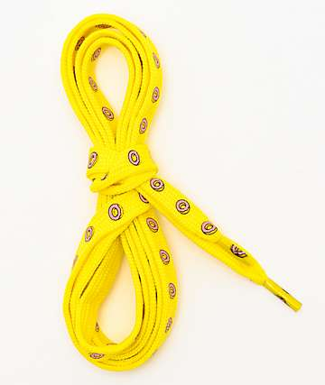 Odd Future Donut Yellow Shoelaces