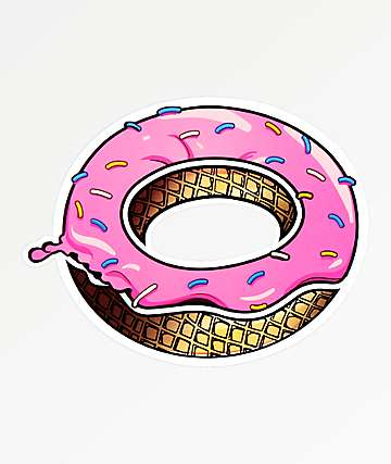 Odd Future Dripping Donut Sticker