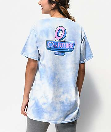Odd Future Key Blue Tie Dye T-Shirt