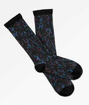 Odd Future Leopard Berry Crew Socks