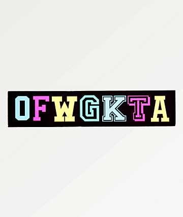 Odd Future OFWGKTA Sticker