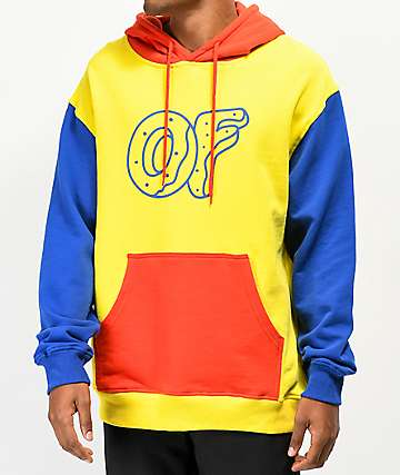 Odd Future Primary Colorblock Hoodie