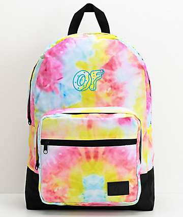 Odd Future Rainbow Tie Dye Backpack
