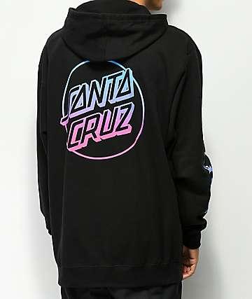 Odd Future x Santa Cruz Fade sudadera negra