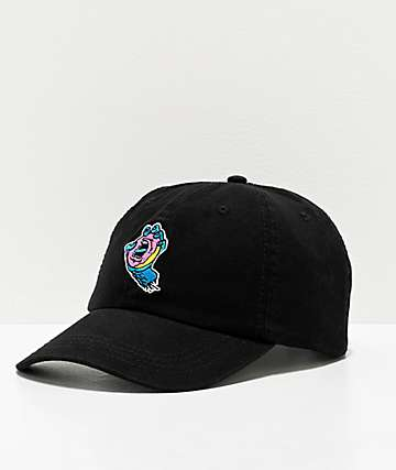 Odd Future x Santa Cruz Screaming Donut Black Strapback Hat