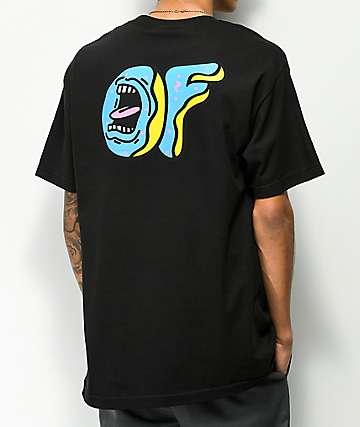 Odd Future x Santa Cruz Screaming Donut Black T-Shirt