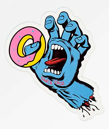Odd Future x Santa Cruz Screaming Donut Sticker