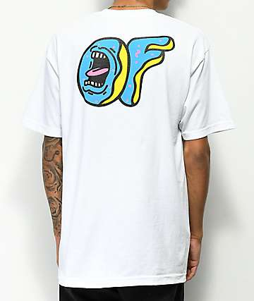 Odd Future x Santa Cruz Screaming Donut White T-Shirt