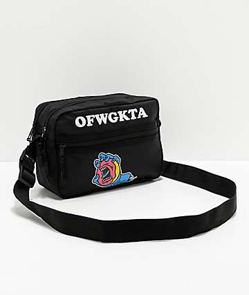 Odd Future x Santa Cruz Screaming Hand Black Shoulder Bag