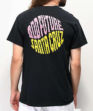 Odd Future x Santa Cruz Split camiseta negra