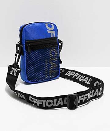 Official EDC bolso de hombro utilitario azul
