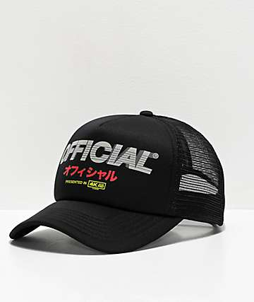Official Entertainment Black Trucker Hat