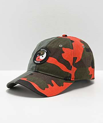 Official Forever Balanced 2 Tone Yin & Yang Strapback Hat