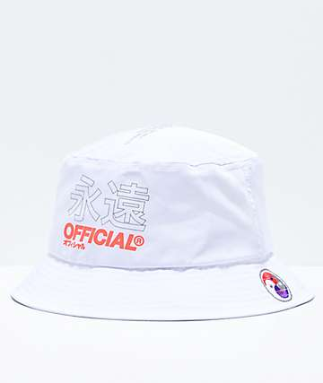 Official Forever White Bucket Hat