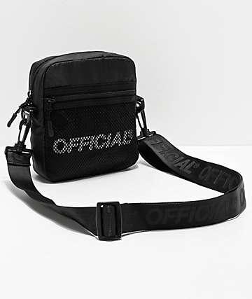 Official Melrose 2.0 bolso de hombro negro de utilidad