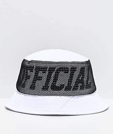 Official Melrose White Bucket Hat