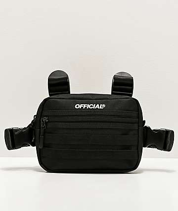 Official Mini Molle Black Utility Chest Bag