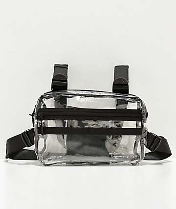 Official Translucent Quad-Strap Chest Bag