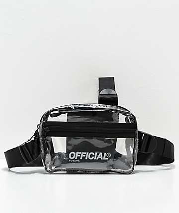 Official bolso de hombro transparente de utilidad