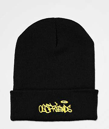Old Friends Handstyler Black Beanie