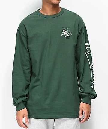 Old Friends Hugger camiseta verde de manga larga