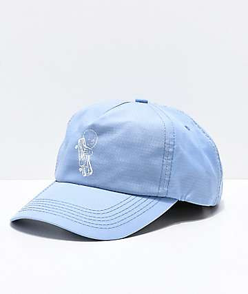 Old Friends Pop Powder Blue Strapback Hat