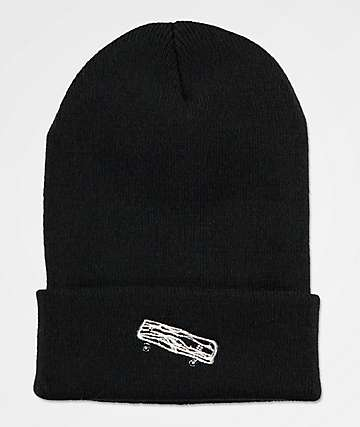 Old Friends Solo Board Black Beanie