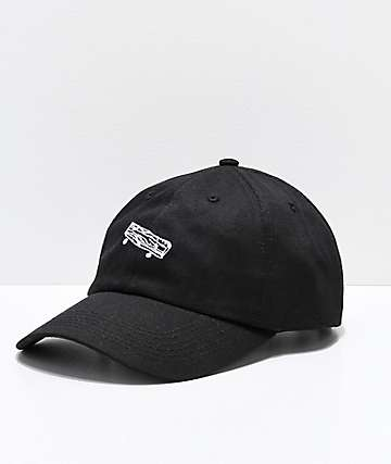 Old Friends Solo Board Black Strapback Hat