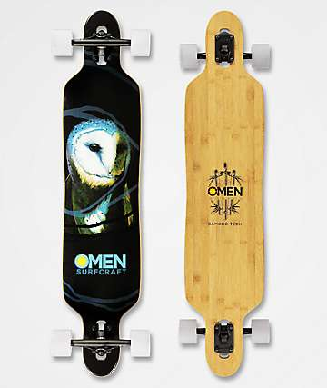 "Omen Barney 41"" Drop Through Longboard Complete"