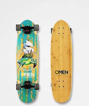 """Omen Logger Head 33"""" Longboard Complete"""