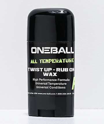 One Ball All Temperature Push-Up Snowboard Wax