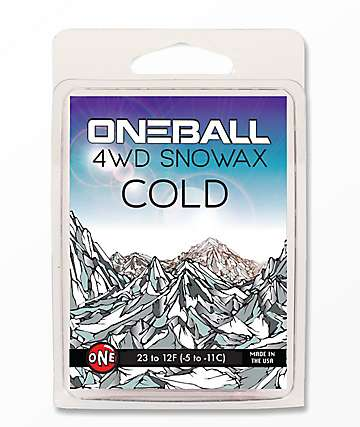 One Ball Jay 4WD Cold Snowboard Wax