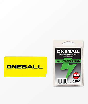 One Ball Jay Mini Snowboard Wax Kit