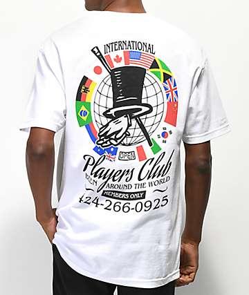 Open925 Players Club White T-Shirt