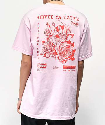 Open925 Smell Ya Later Pink T-Shirt